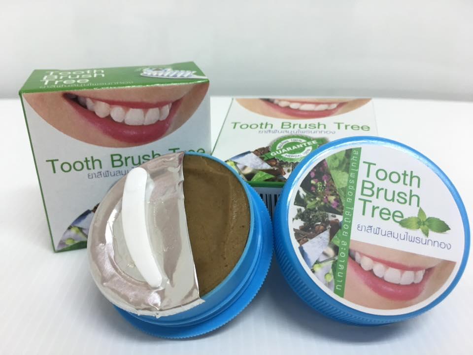 ยาสีฟันสมุนไพรนกทอง